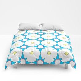 symetric patterns 37 -mandala,geometric,rosace,harmony,star,symmetry Comforters