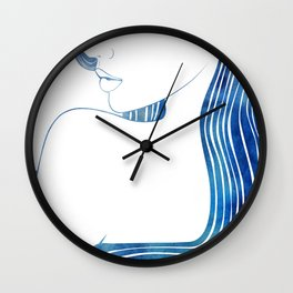 Pontoporeia Wall Clock