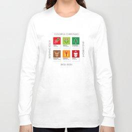 Colorful Christmas Long Sleeve T-shirt