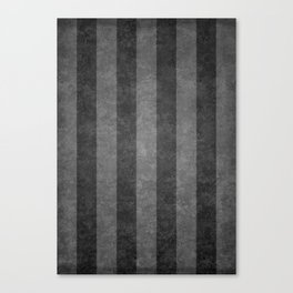 Grey Stripes Canvas Print