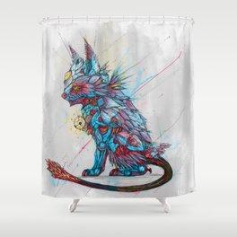 Vivid Malphaz Shower Curtain