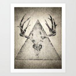 Anteocularis IV Art Print