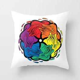 Pride Love Movement Throw Pillow