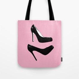 Pop Art High Heels Tote Bag