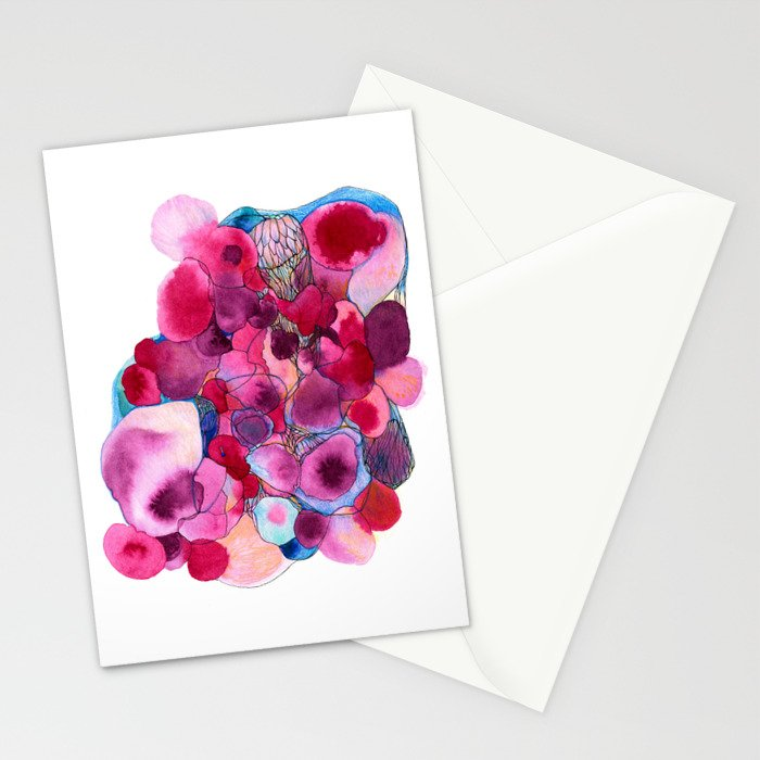 Sherbert Watercolour Stationery Cards