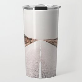 ROAD - HIGH WAY - LANDSCAPE - PHOTOGRAPHY - NATURE - ADVENTURE - SKY Travel Mug