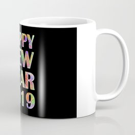 Happy New Year 2019 New Year's Eve Party Gift Coffee Mug