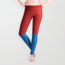 flag of Ticino or Tessin Leggings