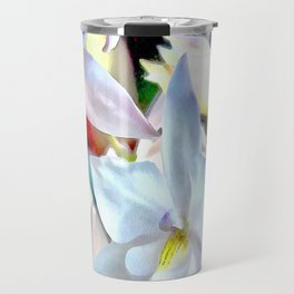 Cascading Cymbidium Travel Mug