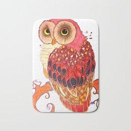 Day Owl Bath Mat