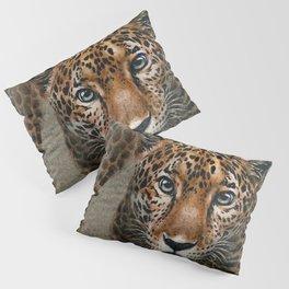 Leopard background Pillow Sham