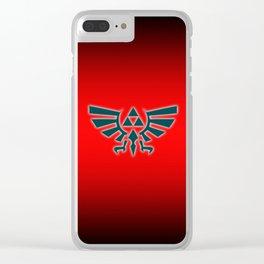 Zelda Triforce Clear iPhone Case