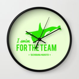 FOR THE TEAM - Tachibana Makoto Wall Clock