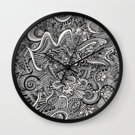 Funnel Me Wall Clock
