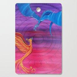 Everlasting Love - Dragon and Phoenix Cutting Board