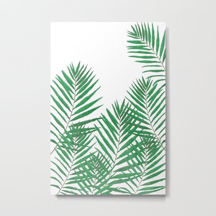Fern Metal Print