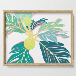 Breadfruit Large Scale Serving Tray