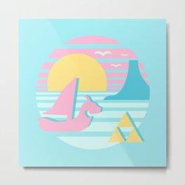 Great Sea Sunset Metal Print
