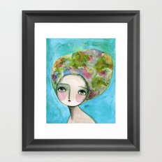 The Muse Of Spring Framed Art Print