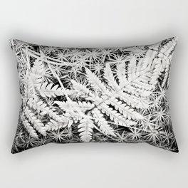 Moss and Ferns Rectangular Pillow