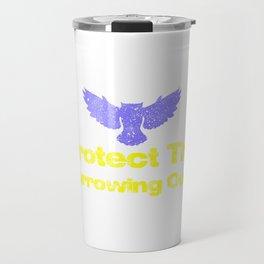 Protect The Burrowing Owls 221 Travel Mug