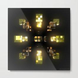My Cubed Mind: Frame 100 Metal Print