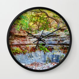 Lost  Maples Park Wall Clock