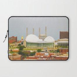 Kansas City Kauffman Center for the Performing Arts Tilt Shift Photograph Laptop Sleeve