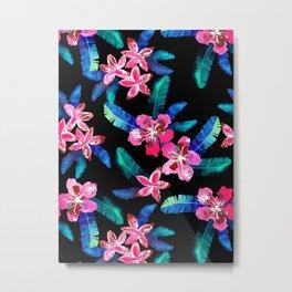 Tahitian Garden {B} Metal Print