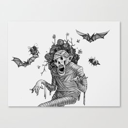 Mummy Canvas Print