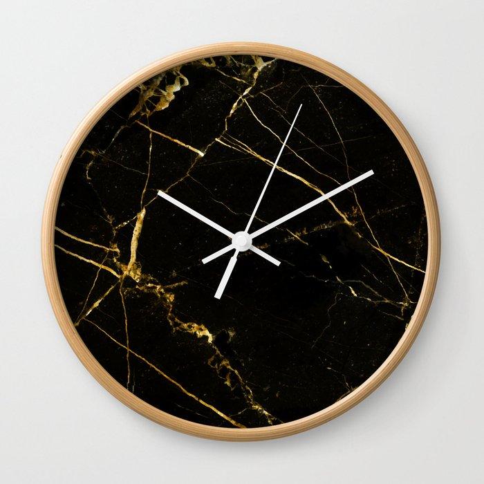 Black Beauty V2 #society6 #decor #buyart Wall Clock