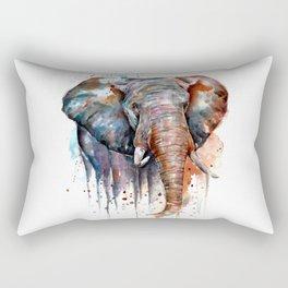 Rustic Elephant Rectangular Pillow