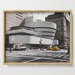 Guggenheim | Frank Lloyd Wright Architect Serving Tray