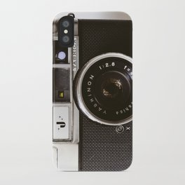 Camera photograph, old camera photography iPhone Case