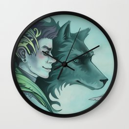 The Forest Prince Wall Clock