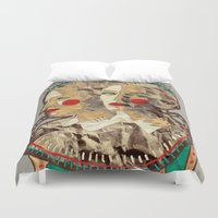 girls Duvet Covers featuring Girls by R. Gorkem Gul