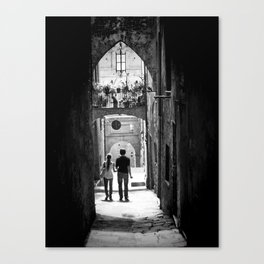 Lovers Lane Canvas Print