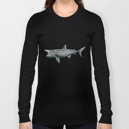 Basking shark (Cetorhinus maximus) Long Sleeve T-shirt
