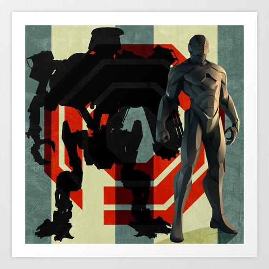 Detroit's Finest - OCP Robocop Art Print