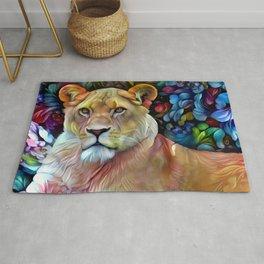 Mama Lion Rug