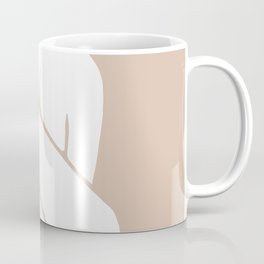 tan abstract nude 2 Coffee Mug