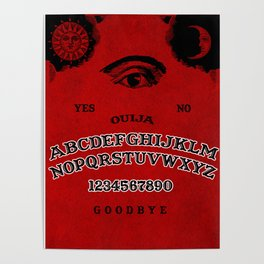 Red Ouija Poster