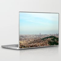 barcelona Laptop & iPad Skins featuring Barcelona by Julius Marc