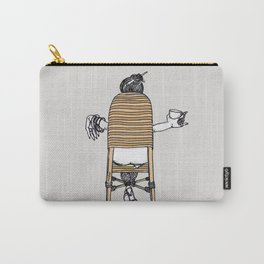 a lady's portrait Carry-All Pouch