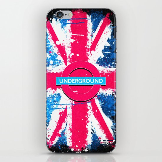 UNDERGROUND - for IPhone - iPhone & iPod Skin