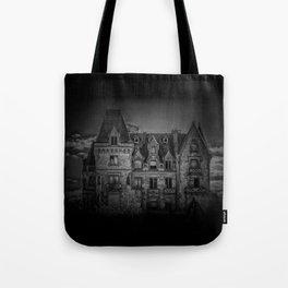 Haunted House Tote Bag