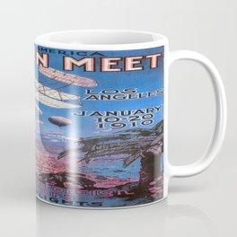 Vintage poster - Aviation Meet Coffee Mug