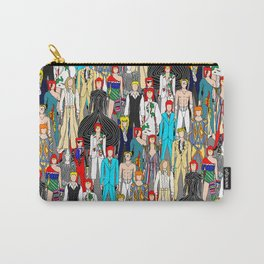 Heroes Doodle Square Carry-All Pouch