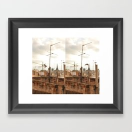 Before & After Framed Art Print