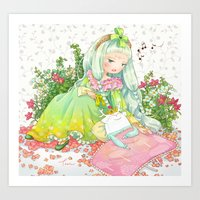 Blissful Sleep Art Print